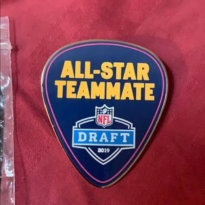 Nashville 2019 NFL Draft official pin